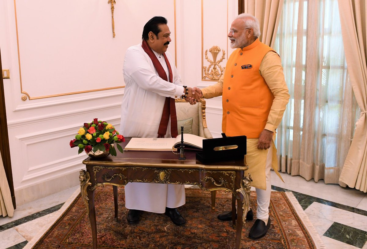 Both @PresRajapaksa and I agreed that people-to-people relations can be made even stronger between our nations. This includes boosting connectivity. There were also discussions on well being of fishermen as it impacts people from both our countries.