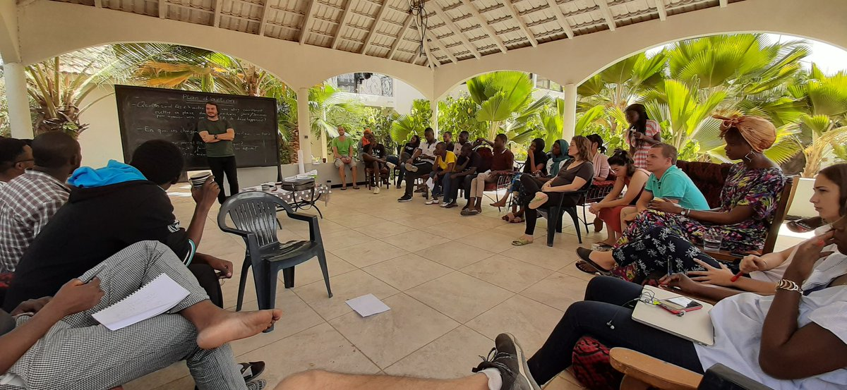 Love these guys ! I really feel we are becoming better human beings with each team retreat#TeamRetreat #YUX #Senegal