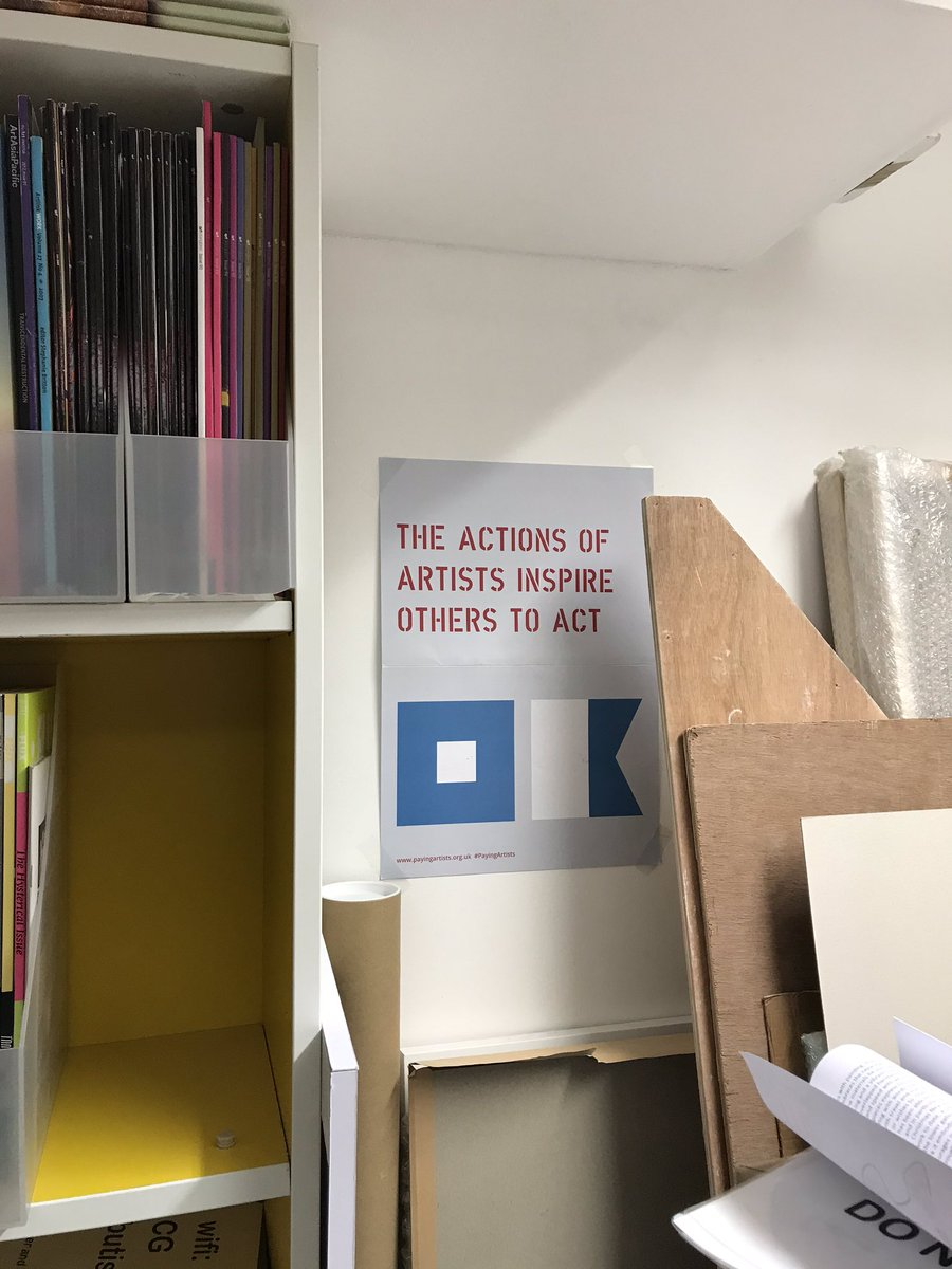 Spotted @CastlefieldGall 'The actions of artists inspire others to act' @an_artnews