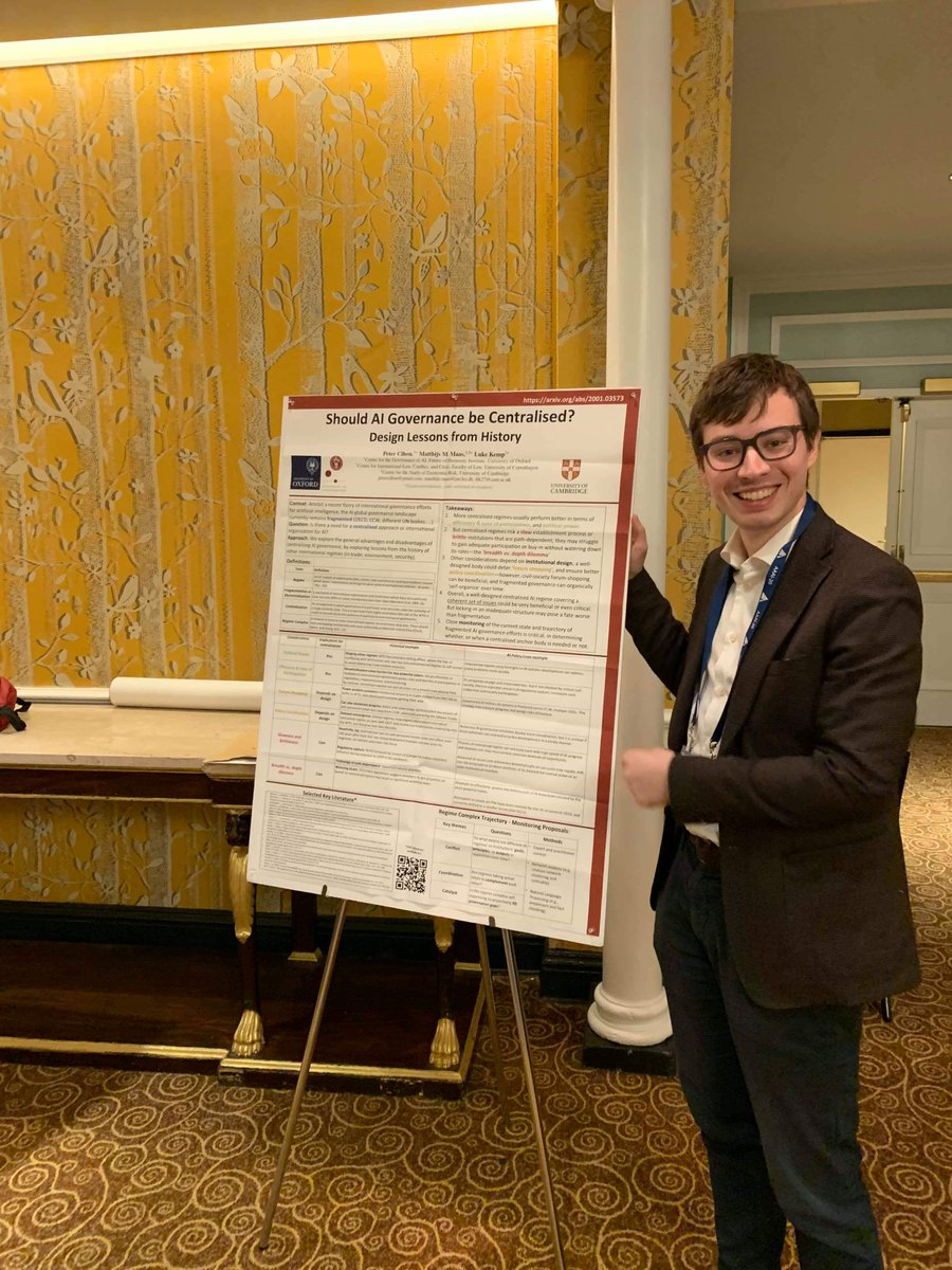 It was great presenting our group paper at #AIES2020 yesterday, thanks for all who came by for #AIgovernance chats at the poster session! Let's continue these debates for day 2 today #AIESpic.twitter.com/Oyxc8fi3eC