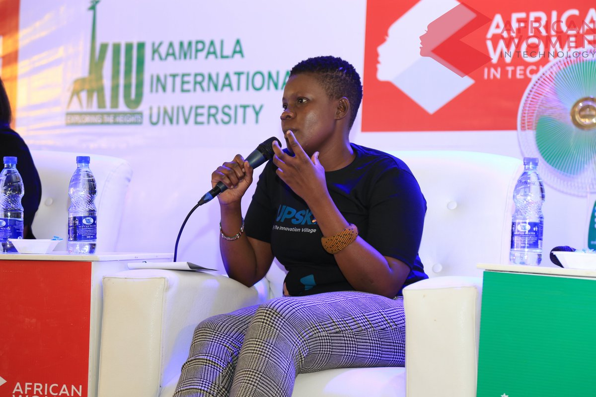 "@Atieno_OJ , says that ""when it works offline you can take it online. Online networks only augment who you are offline and in-person"". She also says that we should note that in as much as social media has made us informed it has created misinformation as well #AWITUGANDA20 pic.twitter.com/8VHQiLKbu3"