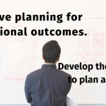 Image for the Tweet beginning: Effective planning for exceptional outcomes.