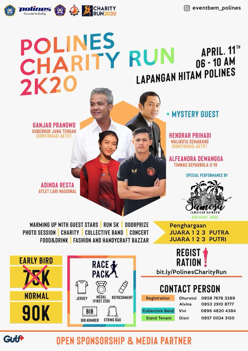 Polines Charity Run • 2020