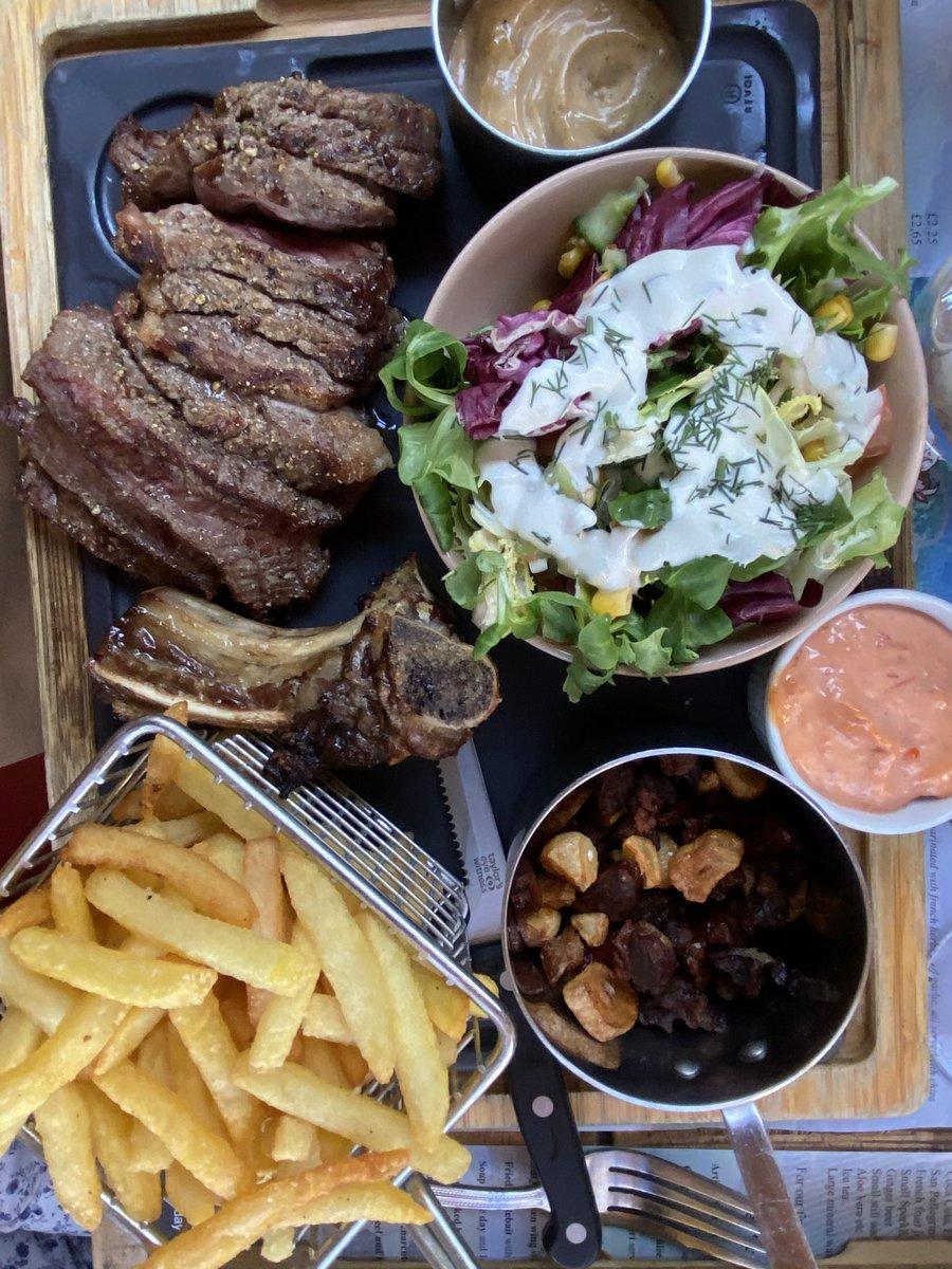"""La Maison Du Dressing la maison du steak on twitter: """"just lunch today -code de"""