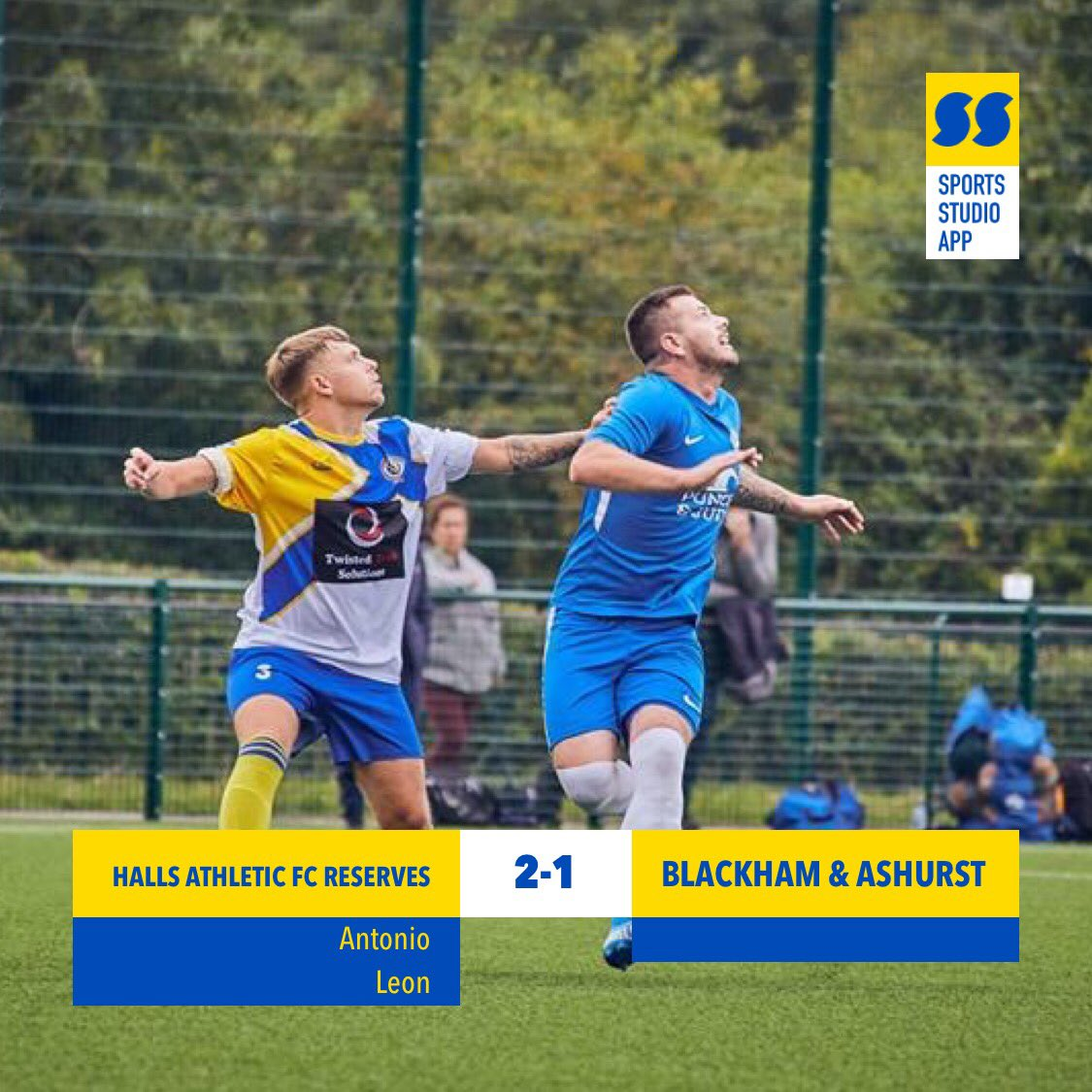 test Twitter Media - Reserves return back to winning ways today with a well earned 2-1 win. Goals from @Matano18 and @LeonSlone1 💛💙💛💙#HAFC #100thseason https://t.co/mNm8lk1zlW