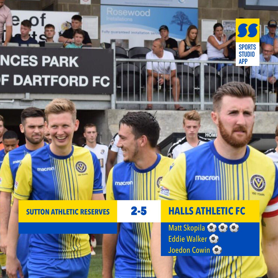 test Twitter Media - A good win today against local rivals. Slow start in the game but our quality shone through. Excellent hatrick by @mattskopila and goals from @EdwardWalker2 Joedon 💛💙💛💙 #HAFC #100thseason https://t.co/UiXY3uJZgd