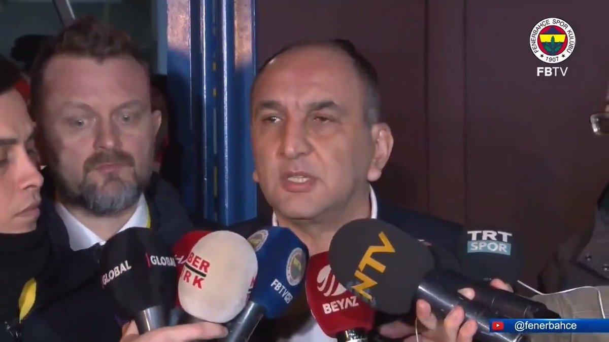 """Başkan Vekilimiz Semih Özsoy: """"Hakem kendisine verilen talimatı yerine getirmiştir."""""""