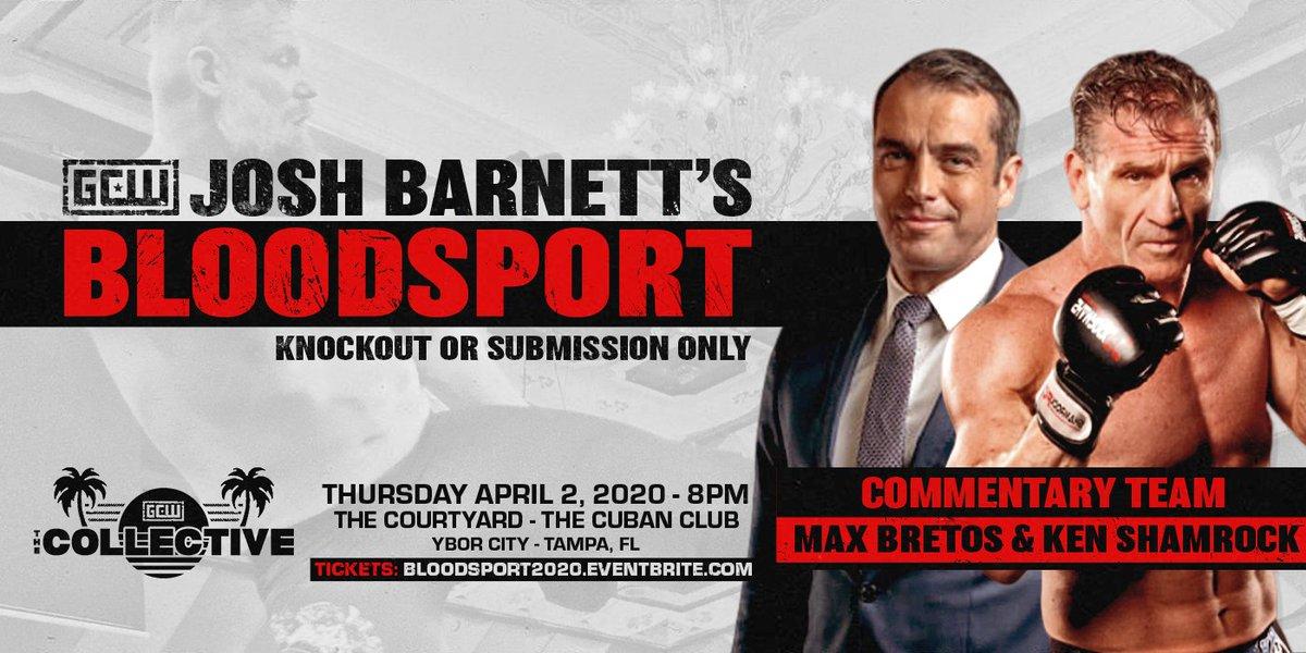 Josh Barnett Announces Commentary Team For Bloodsport III