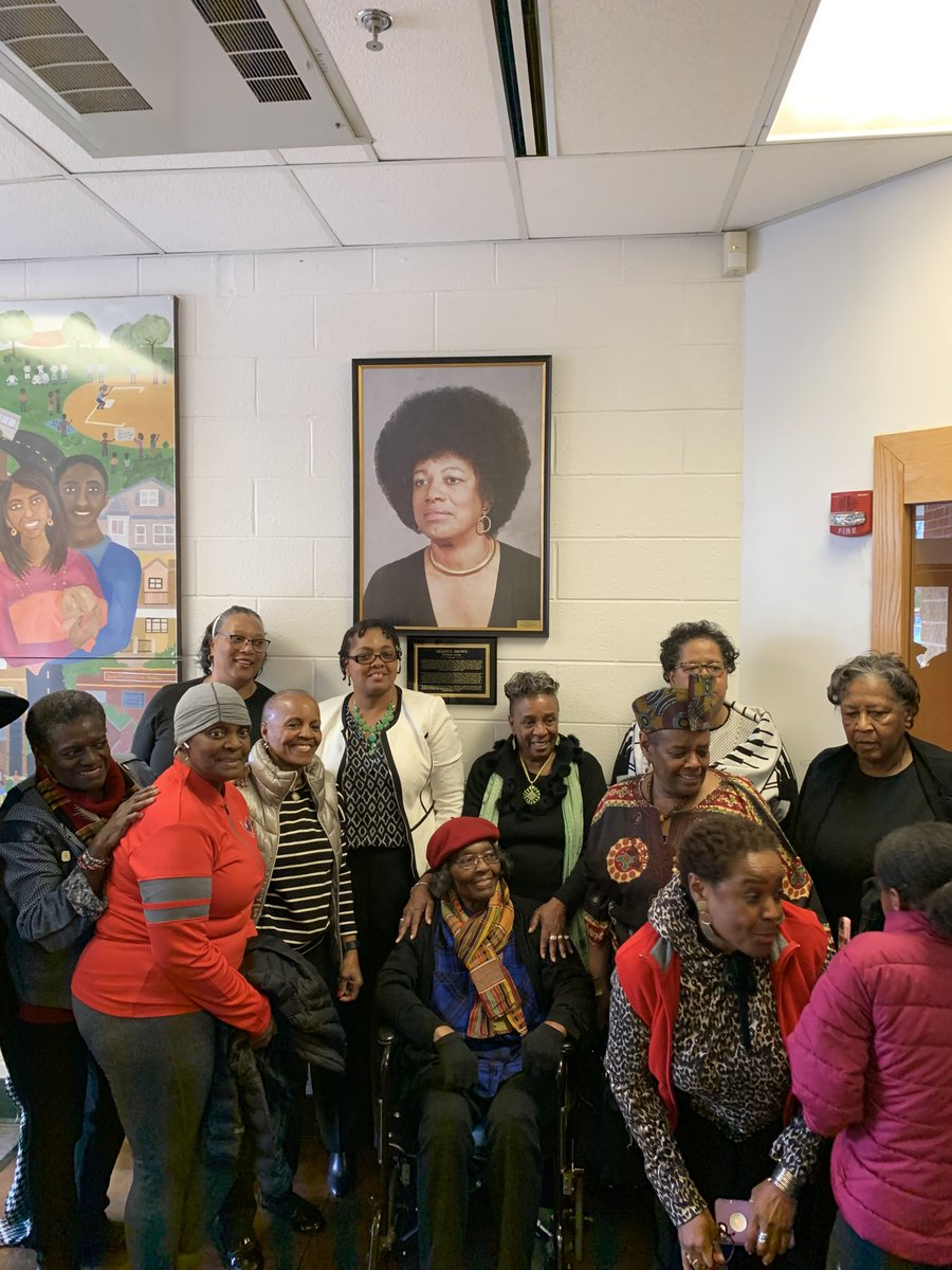 Honored to recognize Lillian Brown's legacy today at her portrait unveiling @ Langston-Brown Community Center <a target='_blank' href='https://t.co/IRErDRnXK5'>https://t.co/IRErDRnXK5</a>