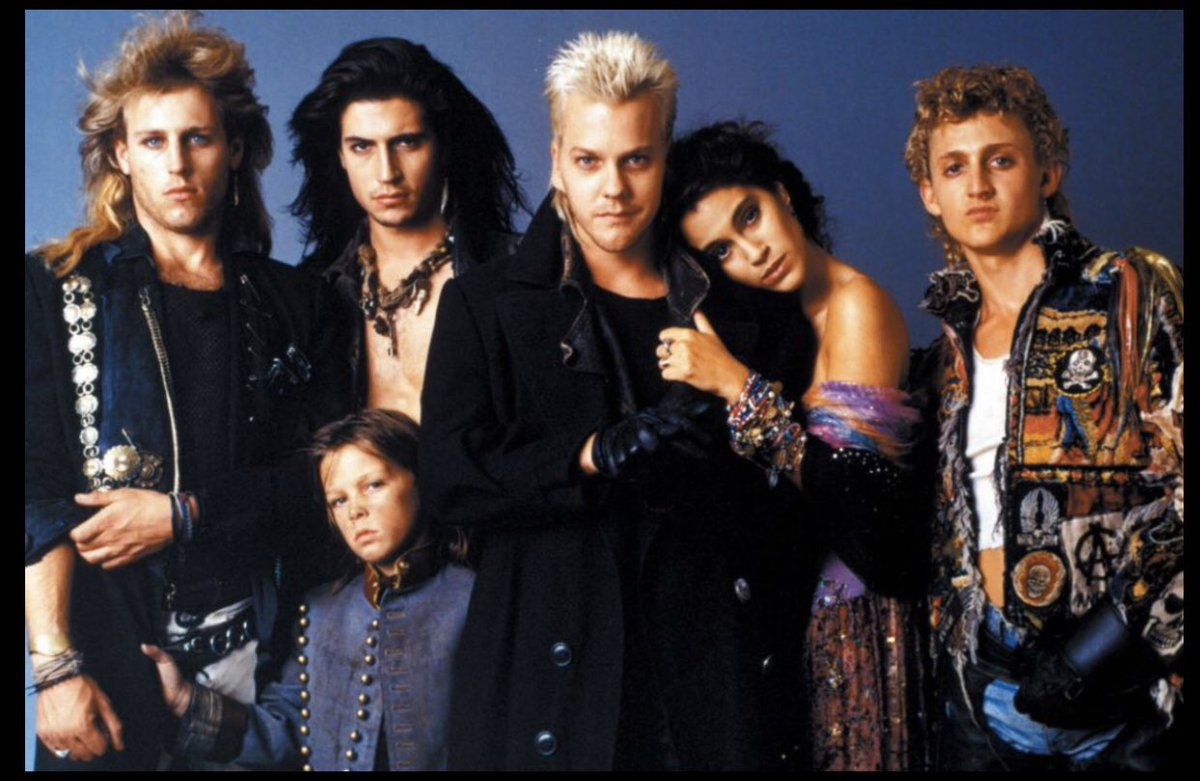 """On a Scale of 1-10  1 Being Horrible & 10 Being Amazing What Would You Rate the 1987 Movie """"The Lost Boys?""""   @Corey_Feldman #TheLostBoys #LostBoys #JasonPatric #CoreyFeldman #CoreyHaim #Movies #Movie #Film #Cinema #Vampires #Vampire #Mystery #Horror #1980s #80s #80sThen80sNowpic.twitter.com/sQDCHQZpjk"""