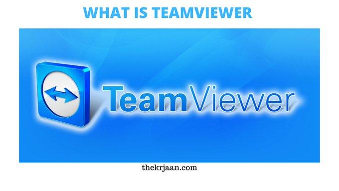 What Is TeamViewer