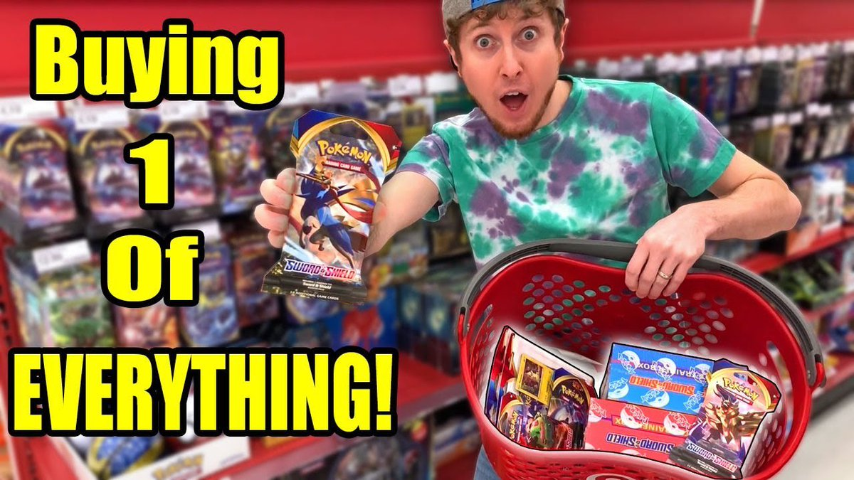 I DID IT! Buying One Of EVERYTHING from Pokémon Sword and Shield! youtube.com/watch?v=0Kgq23…