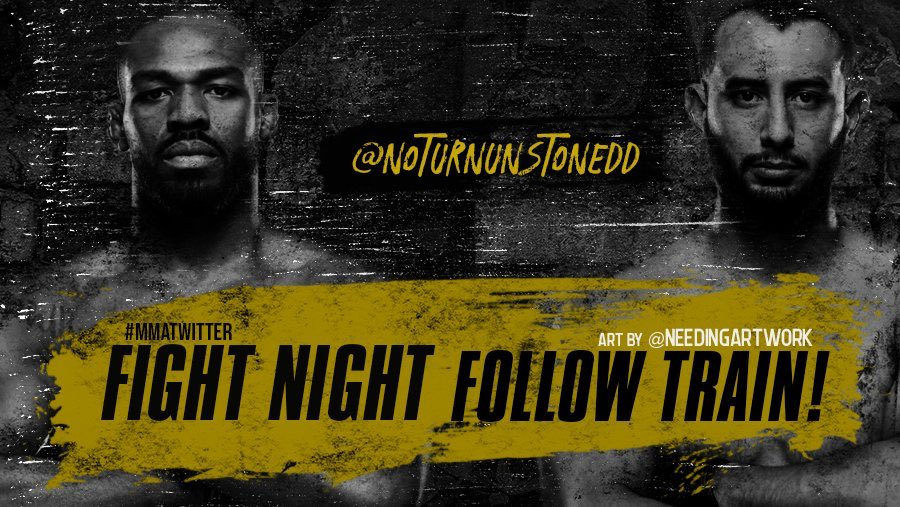 #UFC247 FIGHT NIGHT FOLLOW TRAIN!!🔥💯   1. RETWEET & LIKE this Post. 2. Follow all MMA fans that RT/Like. 3. Drop your fight predictions in the thread. 4. Watch your following grow & connect with new fans!👊🏻  #UFC #MMATwitter #FightNightFollowTrain🚆 Art by: @needingartwork https://t.co/CP2PRUiH1L