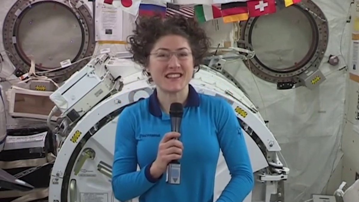 ".@Astro_Christina spent nearly 11 months in orbit - the longest spaceflight by a woman.  ""To be a part of human spaceflight is the most amazing thing I can hope for,"" she told @lawkjackson before she came back to earth.   Stream NBC News NOW: http://nbcnews.com/NOW"