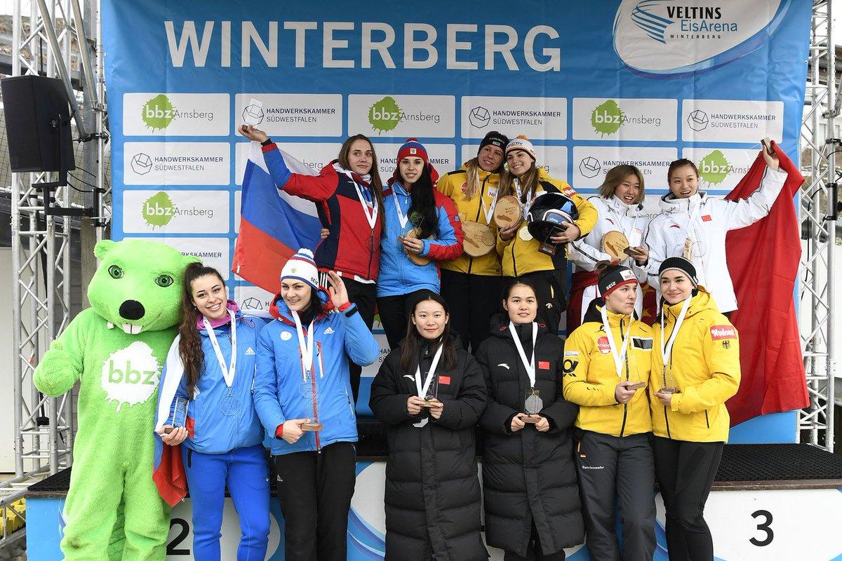 IBSF Junior World Championships in #Winterberg: · U23 European Champion Kim Kalicki🇩🇪 wins Junior World Championship in 2-woman #Bobsleigh · Richard Oelsner🇩🇪 with Junior World Championship gold in 2-man Bobsleigh 👇🏿 ibsf.org/en/news/8-bobs… 📷 Dietmar Reker
