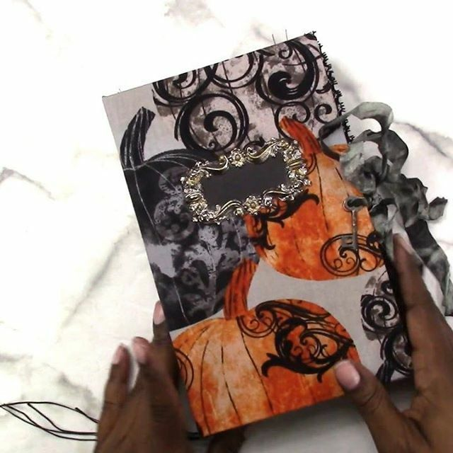 See the full #flipthrough #showandtell of the #allhallowseve #junkjournal on the Journal Life's  Journey YouTube channel! http://bit.ly/jljtv  #livewellandplanpic.twitter.com/xwZ5fQJyfv