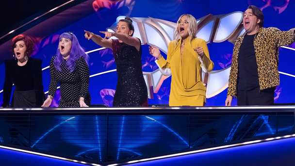 Who is behind the mask?! @MaskedSingerUK is back on your screens tonight at 7pm on @ITV with @joeldommett and @wossy