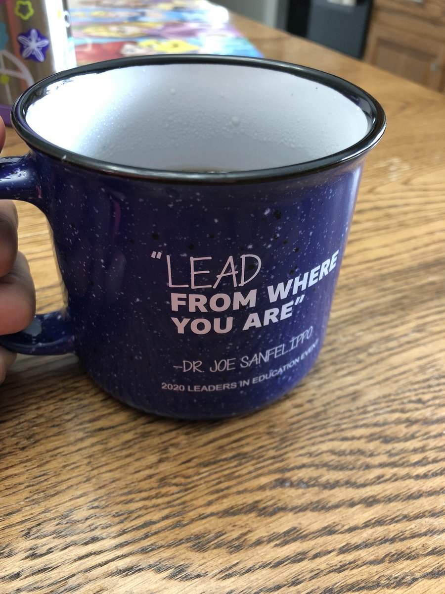 """We are ALL able to be leaders! """"Lead from where you are"""" and LEAD WELL! @Joe_Sanfelippo"""