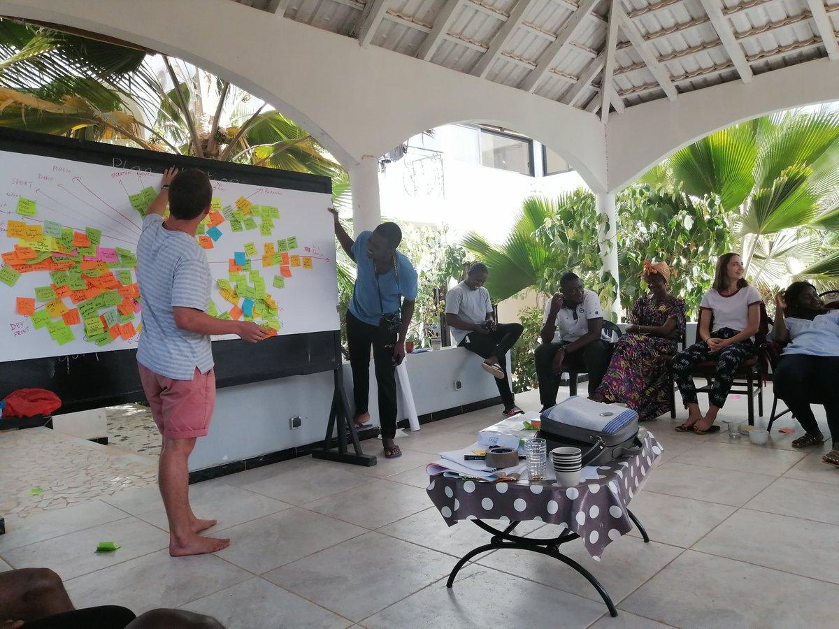 """Rassembler les talents et les compétences au sein de la team grâce à un outil de conception appelé """"Mandala"""".#design #UI #UX #uxdesigntools #DesignThinking"""