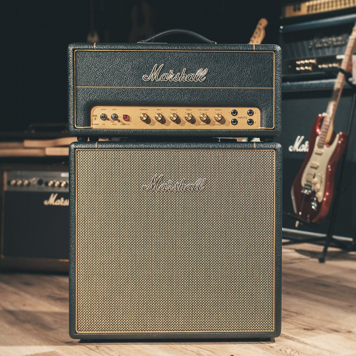 Your favourite amp, only smaller.  Discover the Studio series here: http://www.marshall.com/studioseries  Photo: Michelsonne Music #liveformusic