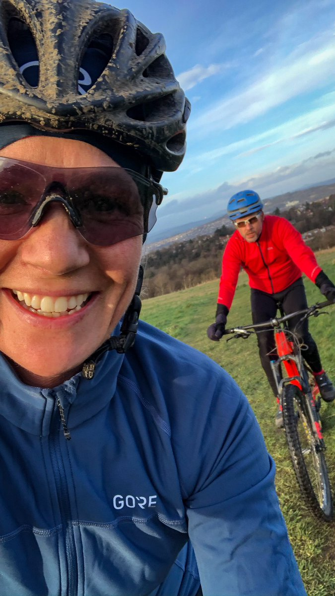 Managed to get a few miles in today before Ciara joined us. Then a few more with her. Just slower or significantly faster!  #ukmtbchat #GOREWear #AlwaysEvolve #mtbpic.twitter.com/ApztcHWKAP