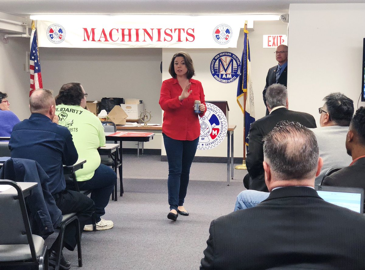 I had a great time celebrating the passage of the PRO-Act with the Machinists today!
