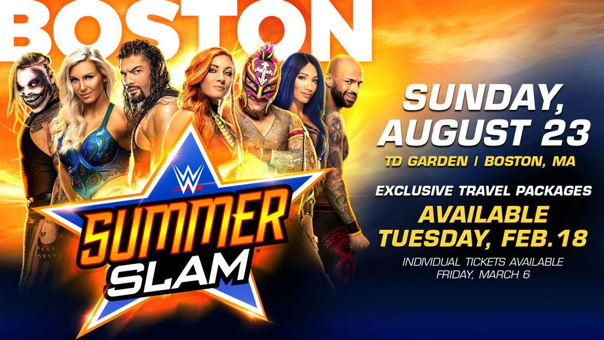 WWE Has No Choice But To Withdraw Summerslam 2020 From Boston 1