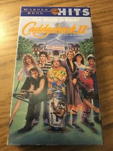 Today in #ComedyMovie / #HomeMedia history: #OnThisDate in 1989 #CaddyshackII was released on #VHS.pic.twitter.com/D6BlBO2SNQ