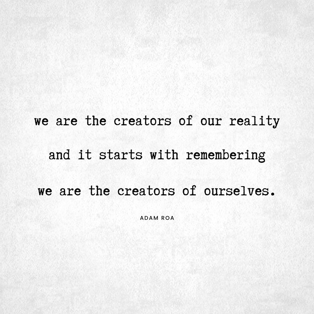 YOU ARE REALITY.  You're made from stardust the same as everything else. Want to get better at shifting the world around you? Learn how to shift the world IN you.  #ChooseLove / #LifeIsPoetry pic.twitter.com/Lqv9xcTeUZ