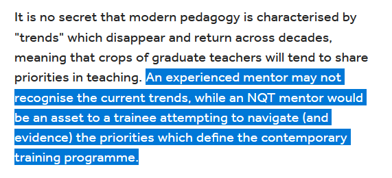 @JamesTheo Translation: 'effective pedagogy is less important than being up-to-date with the latest fads'.