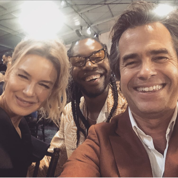 @AlmeidaTheatre at the #IndependentSpiritAwards @jeremyoharris #ReneeZellweger. Jeremy's extraordinary play #Daddy is up next @AlmeidaTheatre. RZ is coming. So should you.