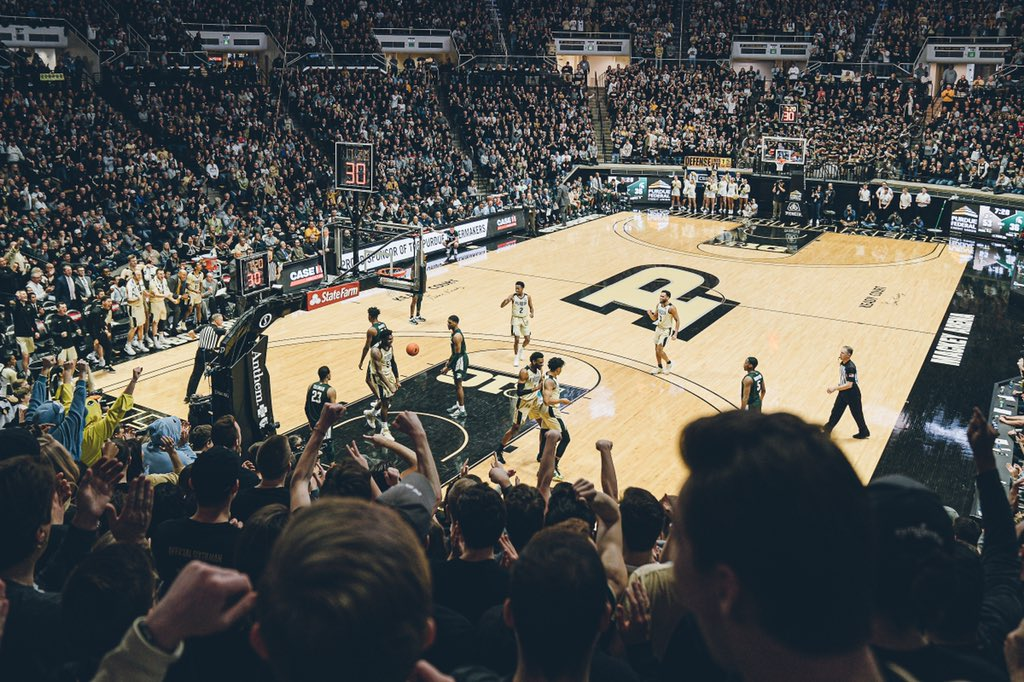Following today's watch party at Mackey Arena, 2020-21 @ThePaintCrew memberships SOLD OUT IN 30 MINUTES.   America's best student section is sold out nine months before next season starts.   Incredible. https://t.co/cEr46TiUdJ