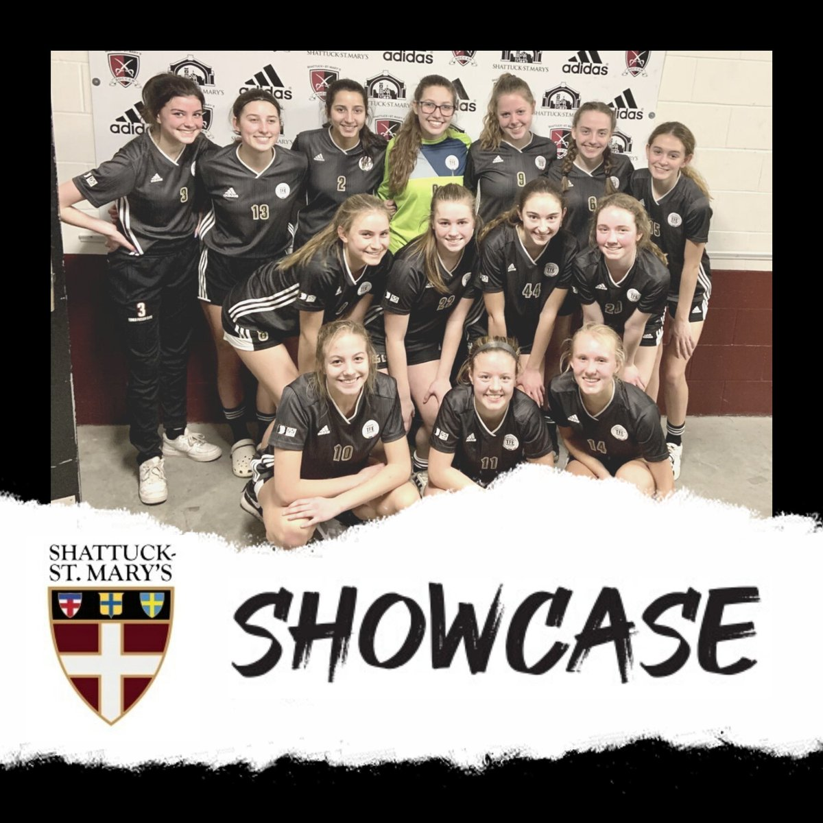 Congrats to our '03 Premier girls for a great showing and undefeated record at the @shattuckstmarys #CollegeShowcase this weekend. Next stop, Phoenix, AZ! #DevelopHere #ForEachOther #EmbraceTheChasepic.twitter.com/3fLxWvR6KA