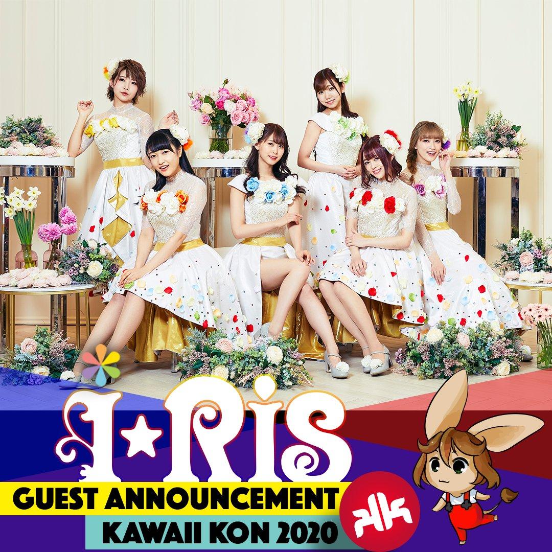 #KawaiiKon is proud to welcome idol group i☆Ris for 2020! Not only do they sing themes for several anime, they're all VAs in PriPara! https://t.co/N3YTO5RTLM i☆Ris VIP packages are TBA! @iRis_a_himi @iRis_y_saki @iRis_s_yu @iRis_w_yuki @iRis_k_miyu @iRis_s_azuki @iris_official_ https://t.co/hVnql35HOn