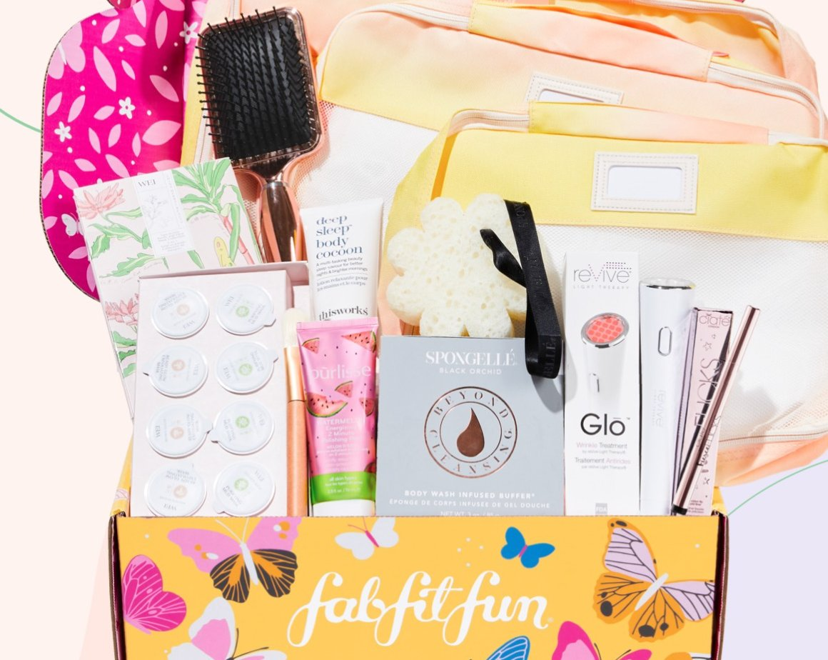 fabfitfun spring 2020 box