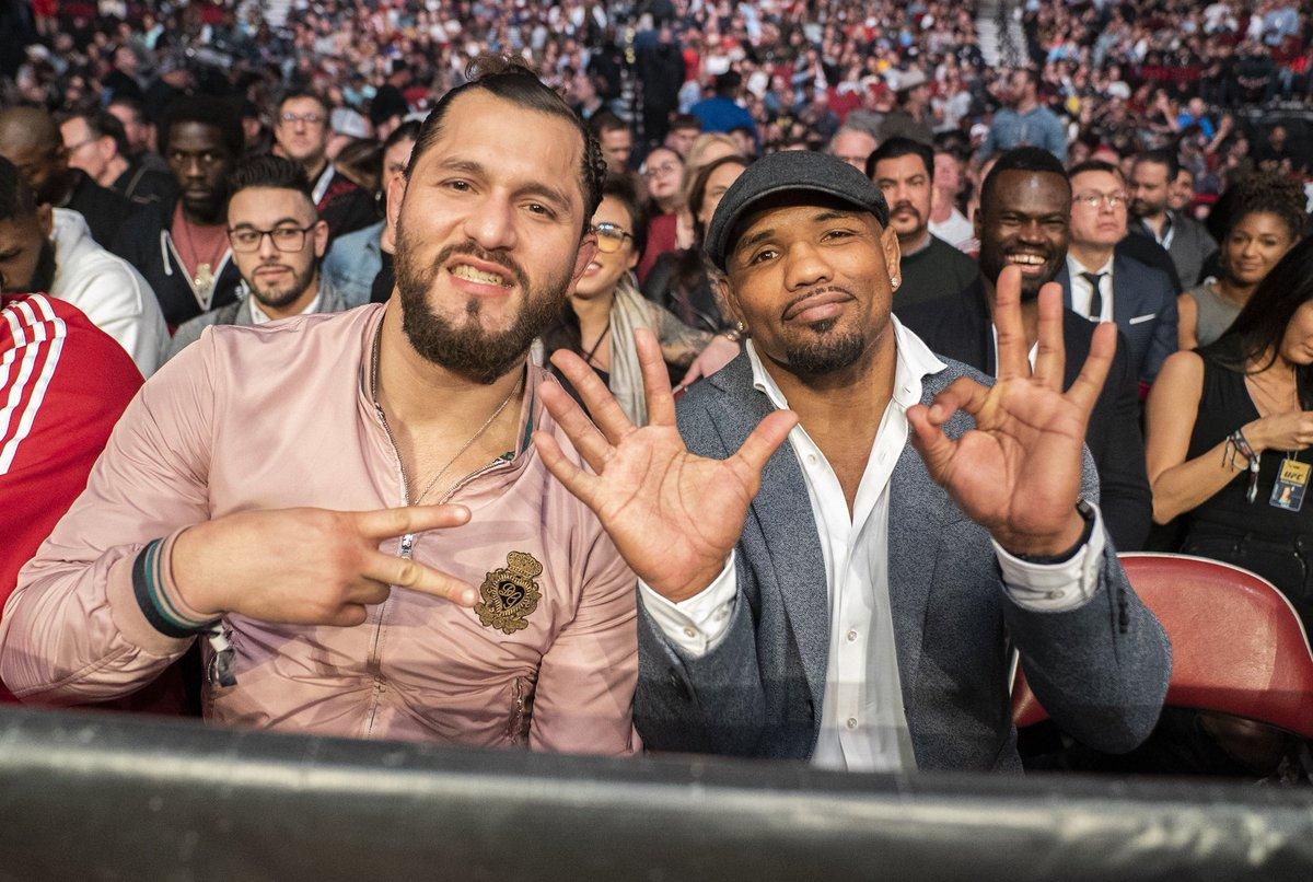 Cuba 🇨🇺 presente en #UFC247 @GamebredFighter y @YoelRomeroMMA 👊