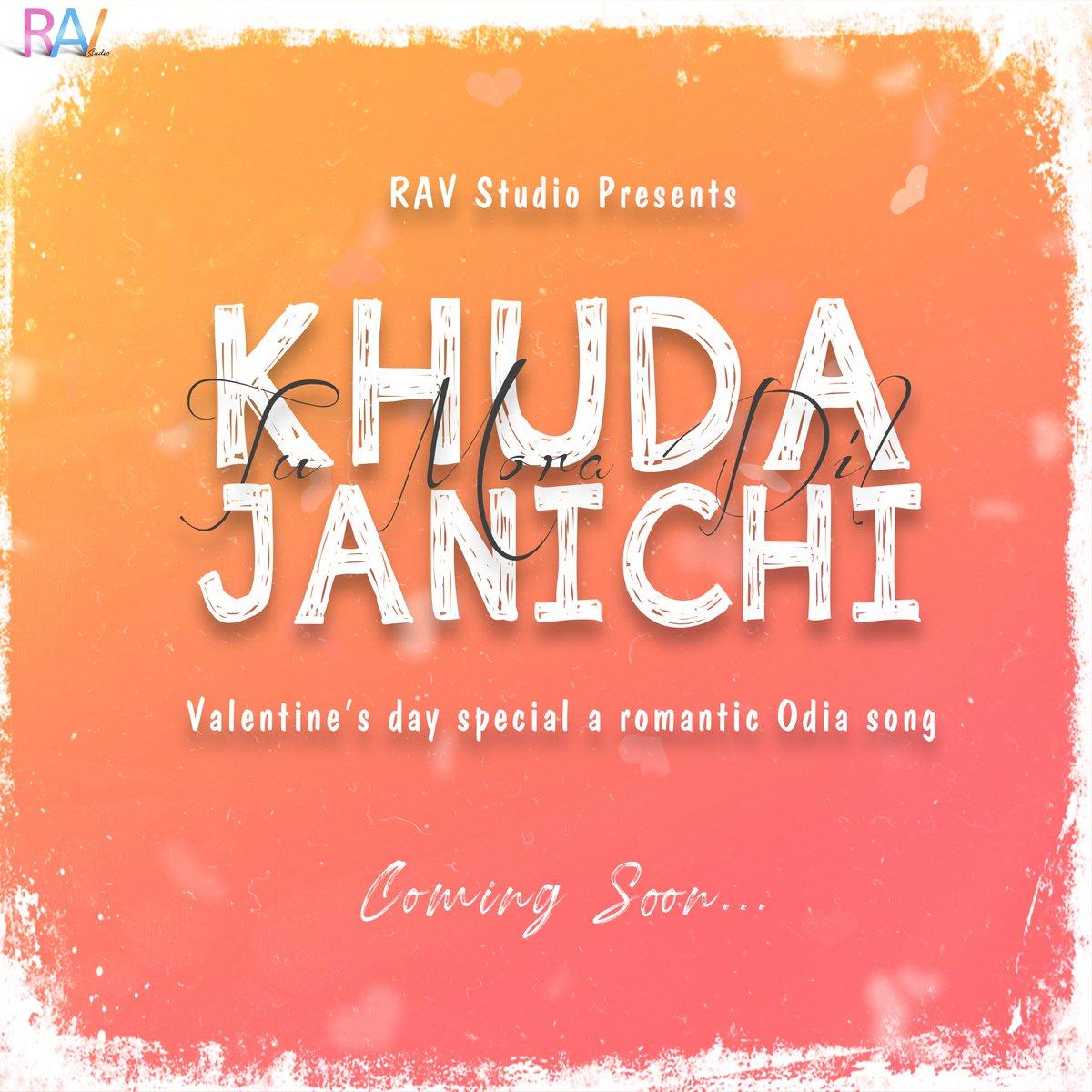 #ravstudio #odiasong #romanticsong #ValentinesDay2020 #YouTube #newsong #khudajanichi #love #ComingSoon #followpic.twitter.com/87iAnYP2Zs