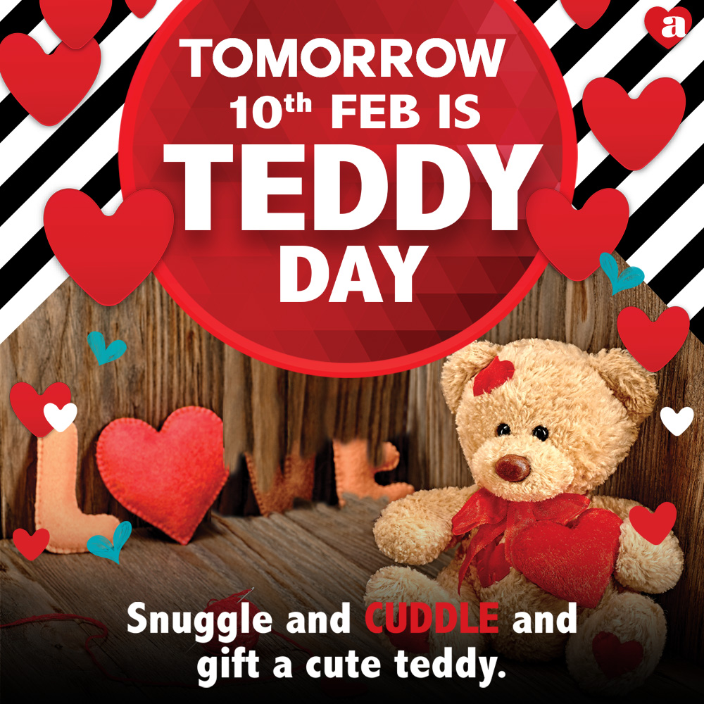 Get ready to share the warmth of cute hugs with your squishiest ones tomorrow. ArchiesOnline TeddyDay https t