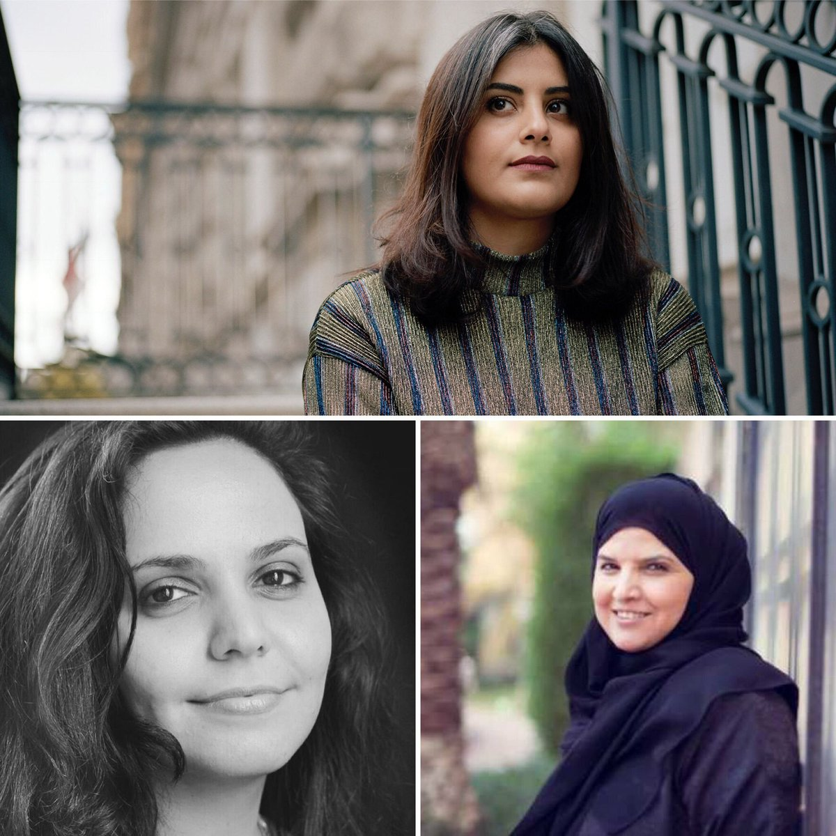 @AmnestyNow @worldincrisis1 Brave women! Hey #MbS you really scared these heros be free in your country! Pathetic! #FreeSaudiActivists right now! #WomensRightsAreHumanRights #Standup4HumanRights #WomensRights #FreedomOfSpeech