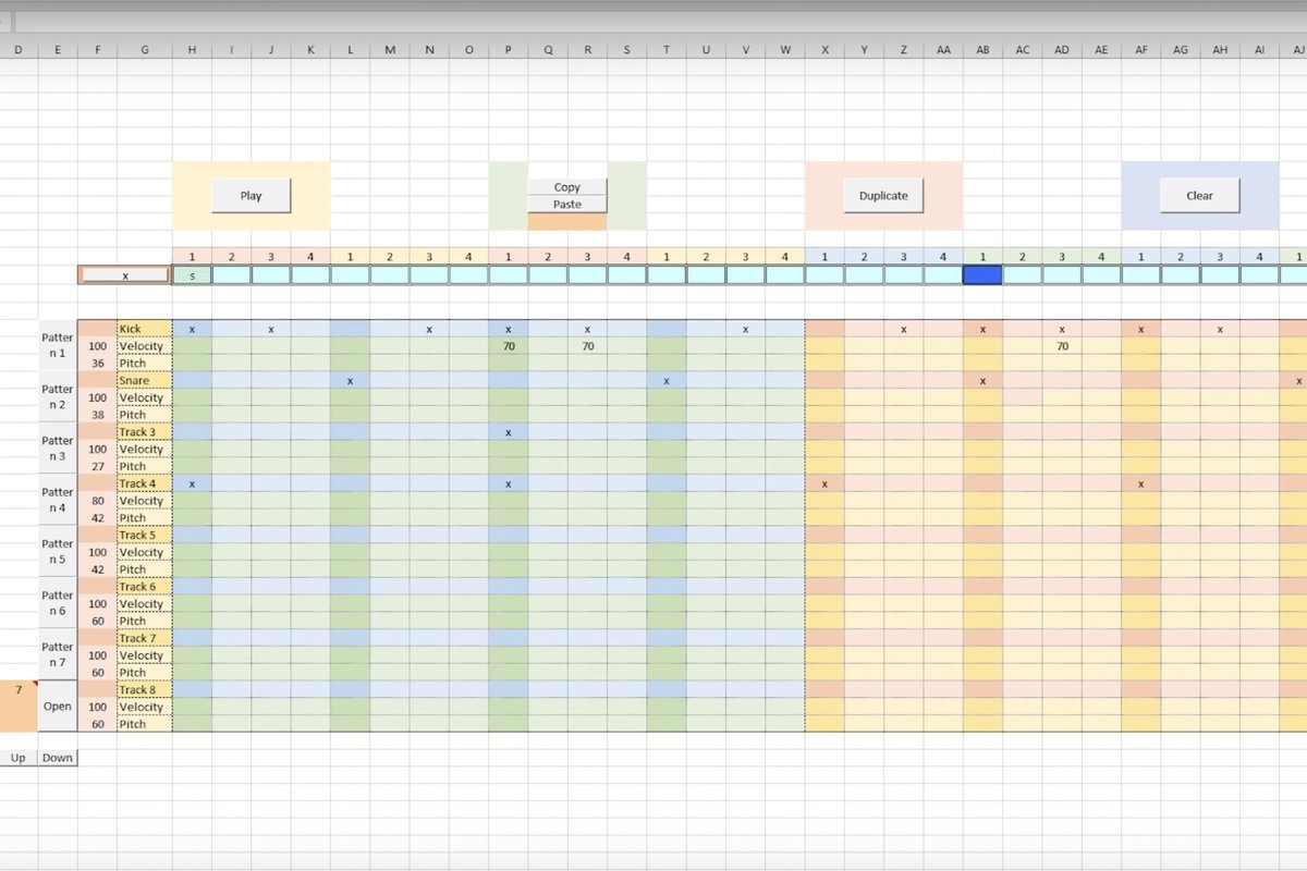 You can now make sick beats in Microsoft Excel