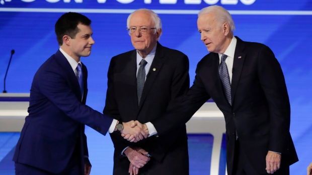 As Buttigieg rises in the polls, Biden says 'this guy's not a Barack Obama'