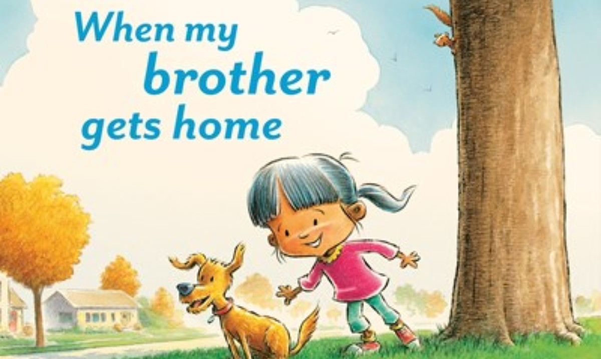 📚WHEN MY BROTHER GETS HOME, new from @tlichtenheld! A sweet-natured tale for young children that celebrates the special bond between siblings. - @sljournal