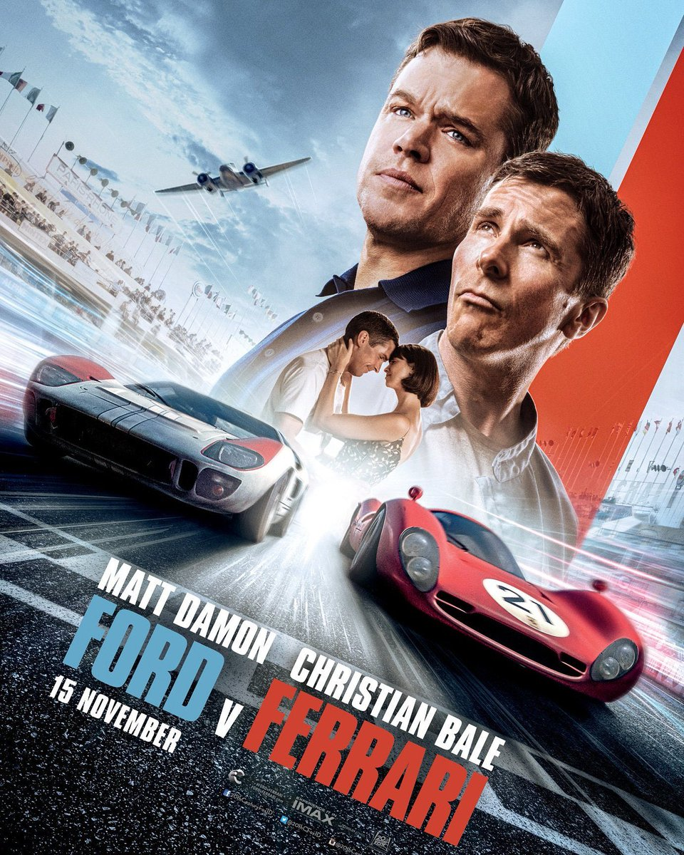 Thavash On Twitter Well I Finally Got Around To Watching Ford Vs Ferrari This Weekend Great Movie Christian Bale Playing An Englishman With A Northern Accent Is Superb I Hope