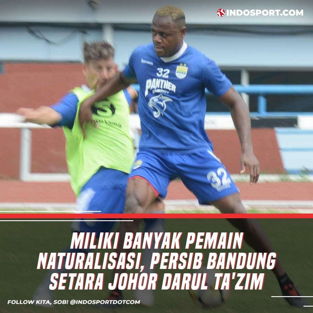 @persib ternyata setara dengan klub elite Liga Super Malaysia @OfficialJohor Sob perihal memiliki banyak pemain berlabel naturalisasi.  Selengkapnya klik tautan di bio ya Sob #PersibBandung #Persib #JDT #JohorDarulTazim #Liga1 #LigaSuperMalaysia #Bobotoh #indosportpic.twitter.com/pd11vu0gq7