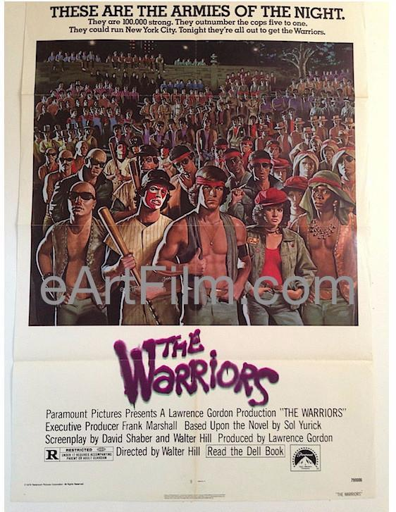 #February9 1979 #WalterHill's #TheWarriors is released in the #USA https://eartfilm.com/products/warriors-cult-classic-vintage-original-movie-poster?_pos=726&_sid=a64346cac&_ss=r … #Warriors #JamesRemar #MichaelBeck #MercedesRuehl #movie #movies #poster #posters #film #cinema #movieposter #movieposters #vintagemovieposters #originalmovieposters http://eArtFilm.com pic.twitter.com/KuglIwretr