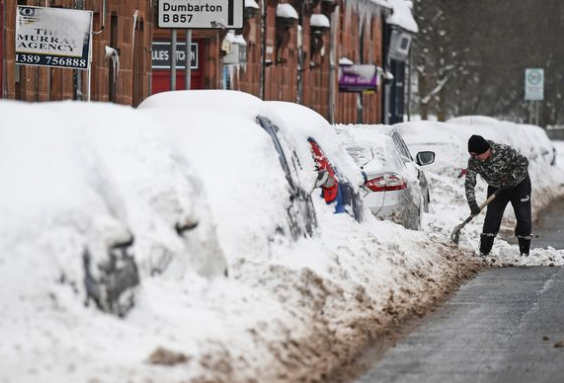 Met Office issues snow warning for UK as wintry weather to hit after Storm Ciara