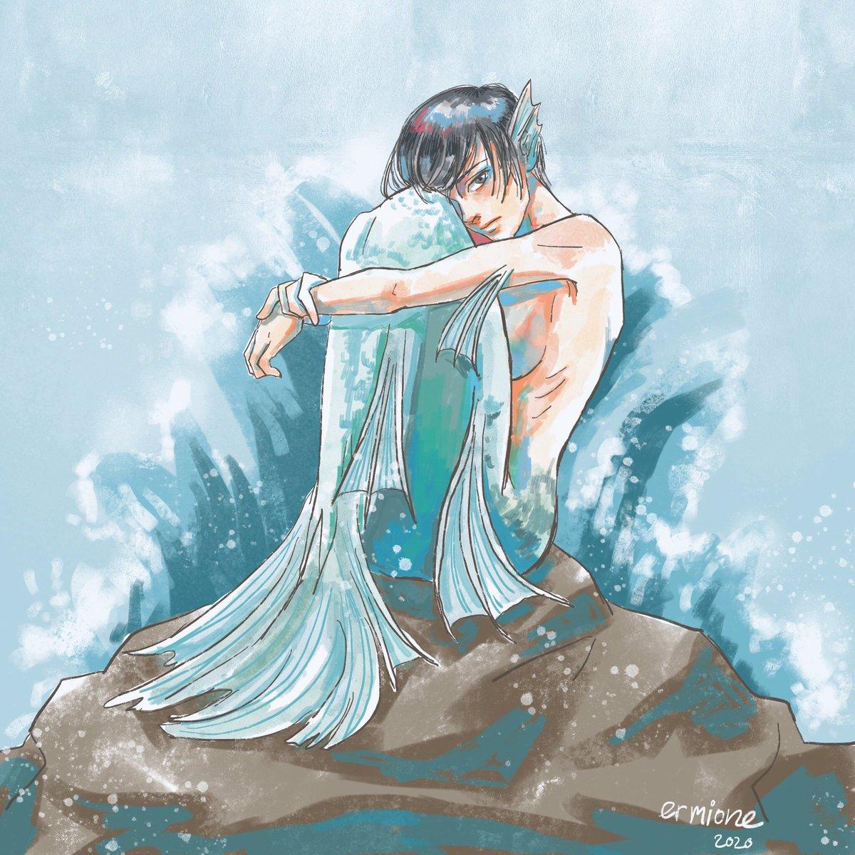 #AOTweeklyTh week12 'mermaid'  #mikasa #ermioneart #ミカサ<br>http://pic.twitter.com/BsvvTc6BOB