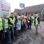 Image for the Tweet beginning: Great effort from the volunteers