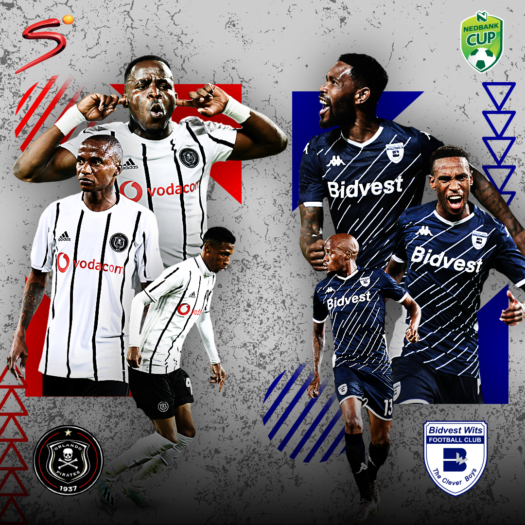 Its time for todays massive #NedbankCup clash between Orlando Pirates and Bidvest Wits. Watch the match live: 📺 SS4 📱 bit.ly/SS_NOW