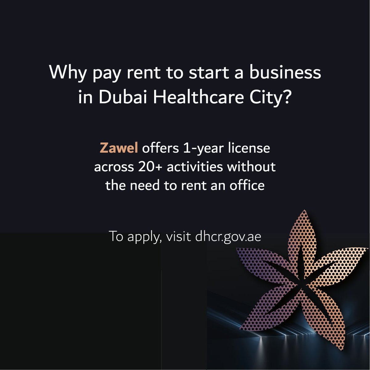 Looking to start a business but don't need any office space just yet? Our new commercial license, Zawel might be just what you're looking for. READ MORE HERE: https://tinyurl.com/txvkhdw    #DHCC #CommunityOfChoice #DHCR #Dubai #MyDubai #DXB #Zawel #CommercialLicense #DHCCPulsepic.twitter.com/zkSnu7ITIi